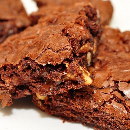 Gran's homemade brownies